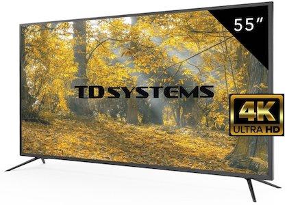 Televisores Led 55 Pulgadas UHD 4K TD Systems K55DLM8U