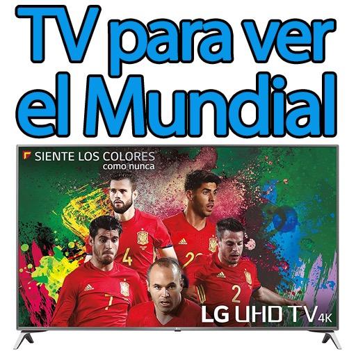 TV para ver el fútbol